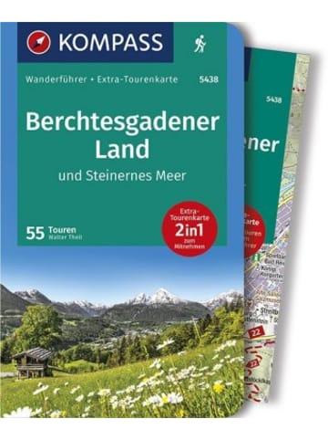 Kompass-Karten KOMPASS Wanderführer Berchtesgadener Land und Steinernes Meer