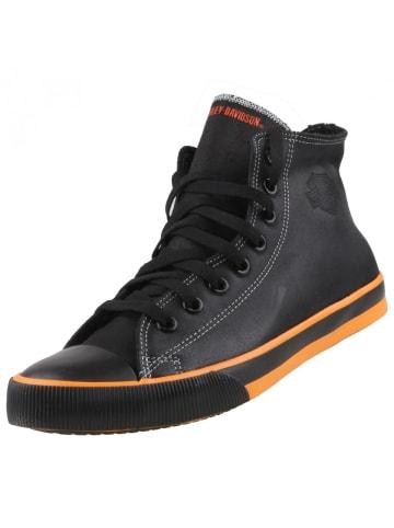 Harley-Davidson Footwear High-Top Sneaker in Schwarz