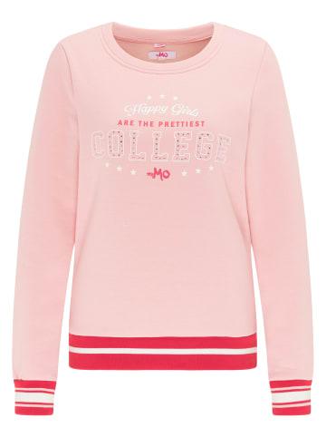 MyMo Sweatshirt in Rosa Rot