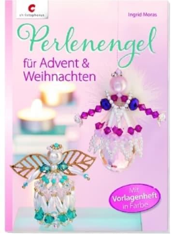 Christophorus Perlenengel für Advent & Weihnachten