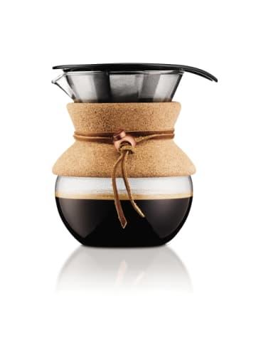 """Bodum Kaffeebereiter """"POUR OVER"""" in Kork - 0.5 l"""
