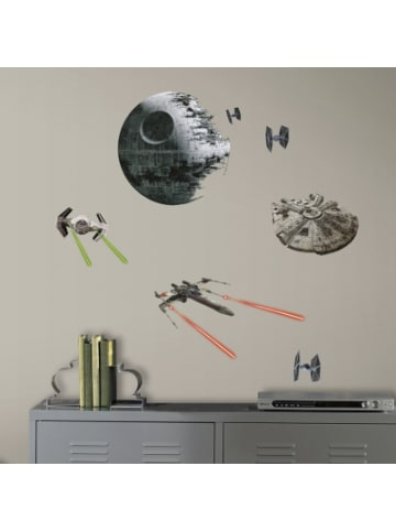 Room Mates Wandsticker Star Wars Classic Spaceships