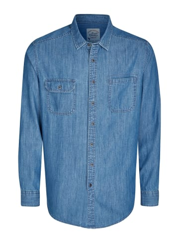 Eagle Denim Jeanshemd in blau