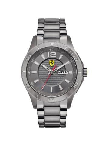 Scuderia Ferrari Analog Uhr 'XX' in Grau/Grau