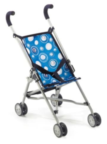 Chic 2000 Puppenwagen Buggy Roma blau