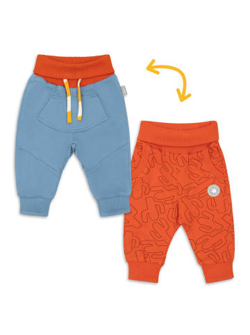 "Sigikid Wendehose ""Wildlife"" in Orange / Blau"