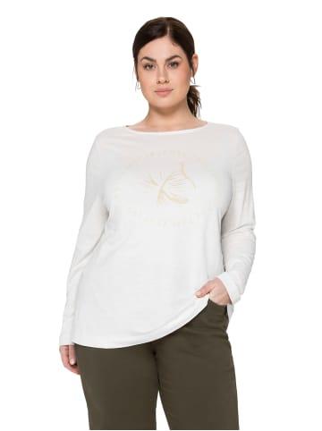 Sheego Shirt in offwhite