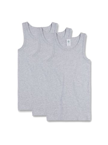 Sanetta Unterhemd 3er Pack in Grau