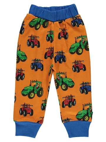 Småfolk Sweathose Tractor in orange