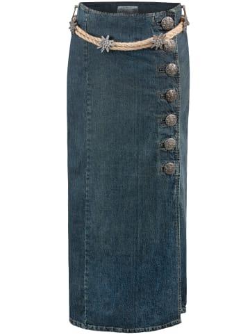 "Stockerpoint Jeans Trachtenrock ""Gracia"" in indigo"
