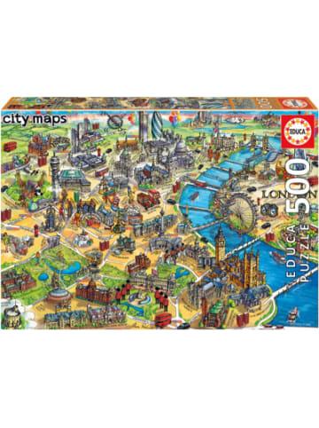 Educa Puzzle London Map, 500 Teile