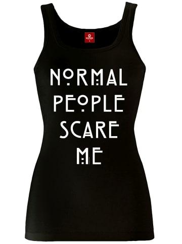 American Horror Story Tanktop Normal People in schwarz