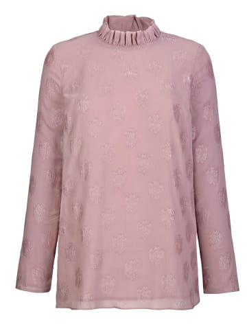 AMY VERMONT Bluse in Rosé