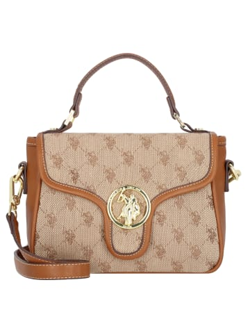 U.S. Polo Assn. Lady Lake Handtasche 22 cm in brown