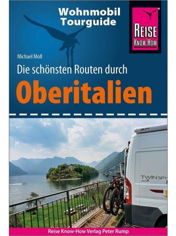 Reise Know-How Verlag Peter Rump Reise Know-How Wohnmobil-Tourguide Oberitalien | Die schönsten Routen