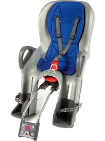 OK Baby Fahrrad-Sicherheitssitz 10+ inkl. Befestigungssystem, blue / silver