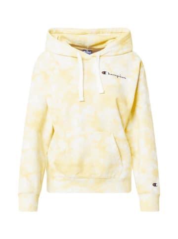 Champion Hoodie Sweatshirt in Gelb