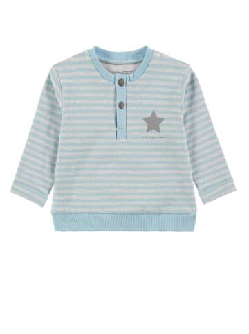 Bellybutton Sweatshirt Little Truck in y/d stripe