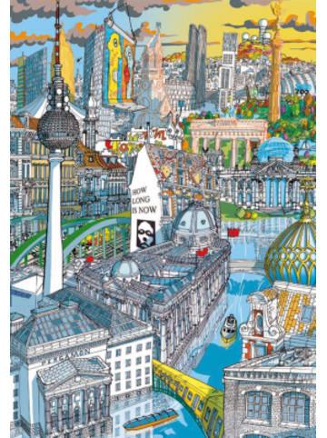 Educa Citypuzzle Berlin, 200 Teile