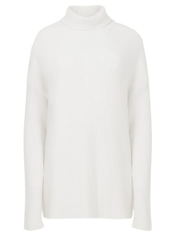 TOPTOP STUDIO Pullover Pullover in weiß