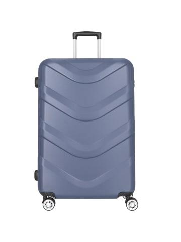 Stratic Arrow 2 4-Rollen Trolley 76 cm in blue