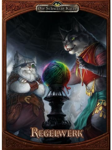 Ulisses Spiel & Medien Die Schwarze Katze - Regelwerk