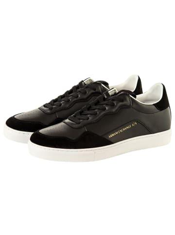 Armani Exchange Sneaker in Schwarz