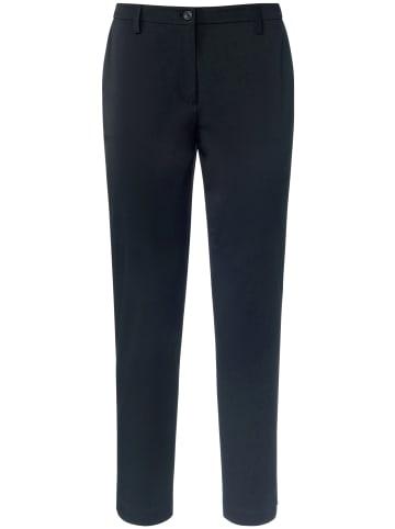 TRUE STANDARD 7/8-Hose Ankle-length trousers in techno-stretch in schwarz