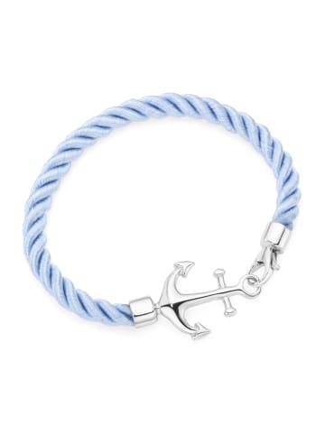 Smart Jewel Armband Mit Anker in Hellblau