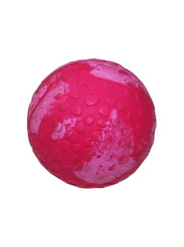 WOLTERS Aqua-Fun Wasserball Hundespielzeug 7cm Ø himbeer