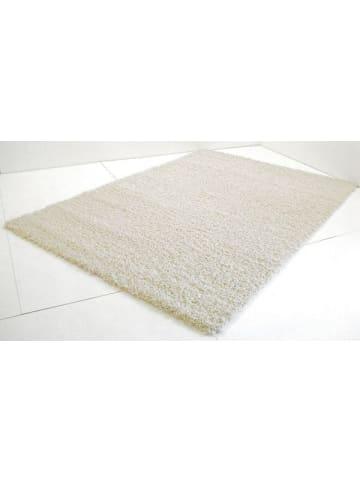 """Cotex Langfloorteppich """"Curly"""" creme (weiß)  60 x 90cm"""