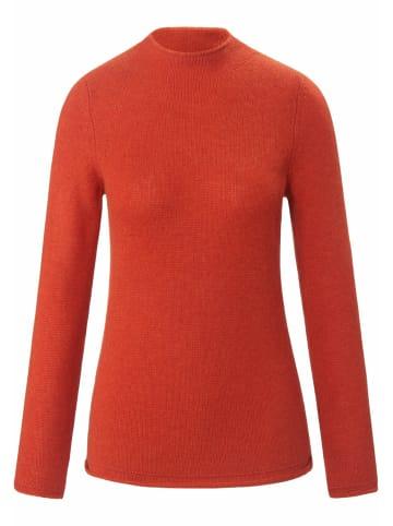 FADENMEISTER BERLIN Pullover aus Premium-Kaschmir in ziegelrot