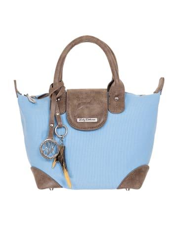 Lady Edelweiss Henkeltasche 15008 hellblau