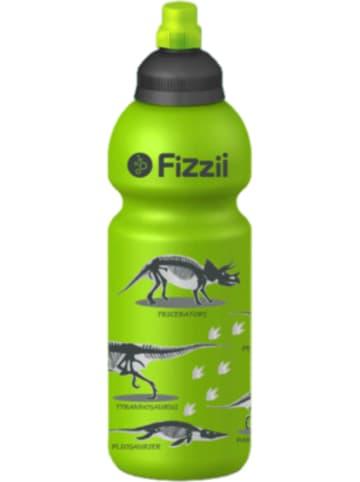 Fizzii Trinkflasche Dino kiwi, 600 ml