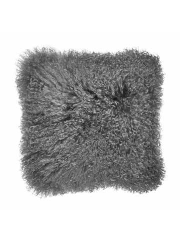 Butlers Lammfell Kissen L 40 x B 40cm TASHI in Grau