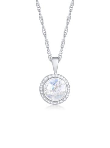 Nenalina Halskette 925 Sterling Silber Edelsteinkette in Silber
