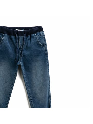 Mamino Kindermode Jungen Jeans Hose in jeans blau