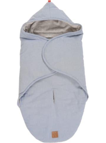 Kaiser Naturfellprodukte Einschlagdecke Molly Melange, light blue melange
