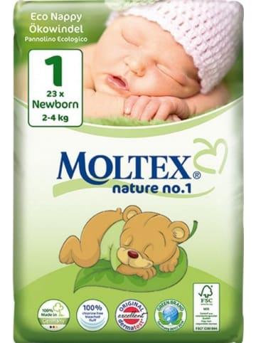 "MOLTEX Ökowindeln ""Nature No1"" NEWBORN Gr. 1 (2-4 kg) 22 Stück"