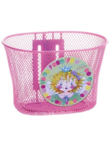 Prinzessin Lillifee Prinzessin Lillifee Fahrradkorb aus Metall, pink