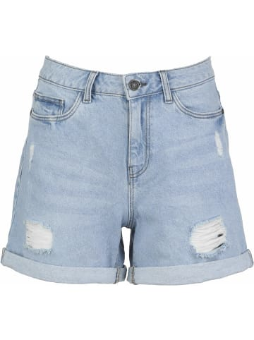 Noisy may Jeans Shorts in blau