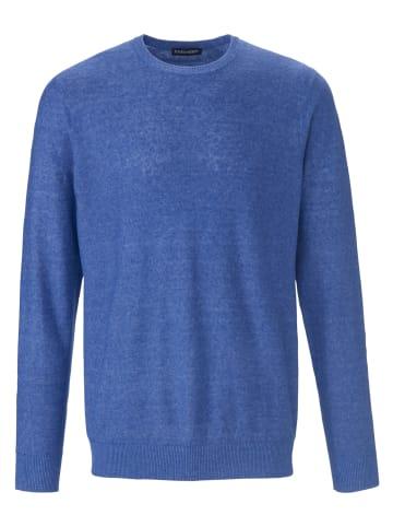 LOUIS SAYN Pullover Rundhals-Pullover in tintenblau