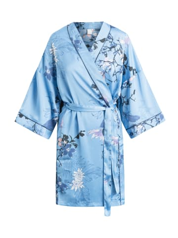 CCDK  Mittellanger Kimono Jean Kimono Blue in Allure AOP