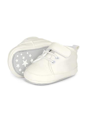 Sterntaler Baby-Schuh in weiß