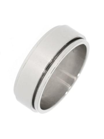 """Gooix Ring """"mit Drehelement"""" in silber"""