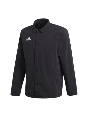 Adidas Jacke TAN Coach in Schwarz