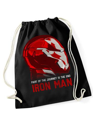 MARVEL Iron Man Turnbeutel The Invincible Bag in schwarz