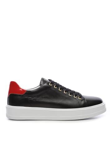 Tanca Herren Sneaker low in schwarz/rot