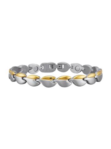 Magnetic Balance Armband in Silberfarben