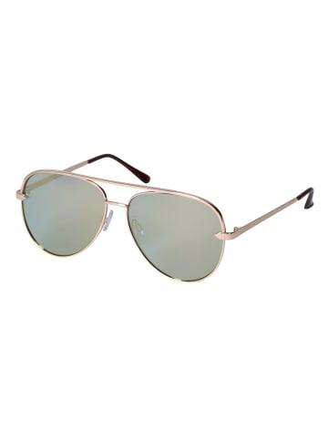 Six Sonnenbrille im Piloten-Design in GREEN